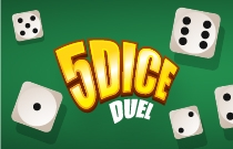 Download en speel 5 Dice DuelOnline