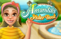 Download and play Amandas Sticker Book