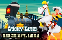 Download en speel Lucky Luke Transcontinental Railroad
