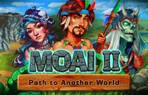 Download en speel Moai 2 Path to Another World