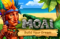 Download en speel Moai: Build Your Dream