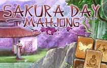 Download en speel Sakura Day Mahjong