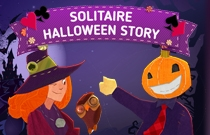 Download en speel Solitaire Halloween Story