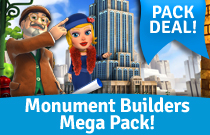 Download en speel Monument Builders Mega Pack