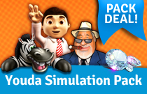 Download en speel Youda Simulation Pack