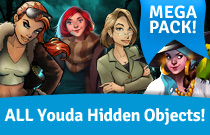 Download and play Hidden Object MEGA Pack