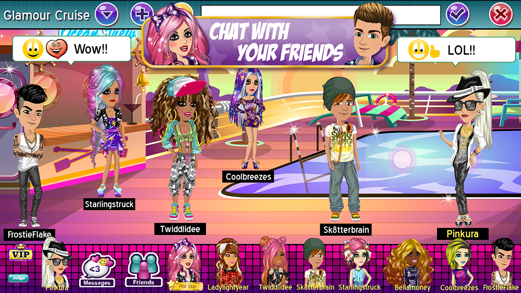 MovieStarPlanet - Play online for free | Youdagames com