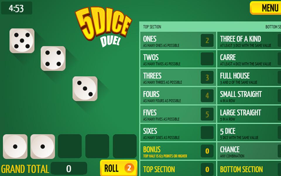 играть онлайн dice