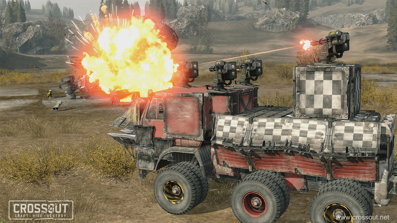 CrossOut - Play online for free | Youdagames com