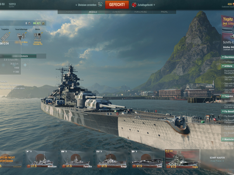 World of Warships - Play online for free | Youdagames com