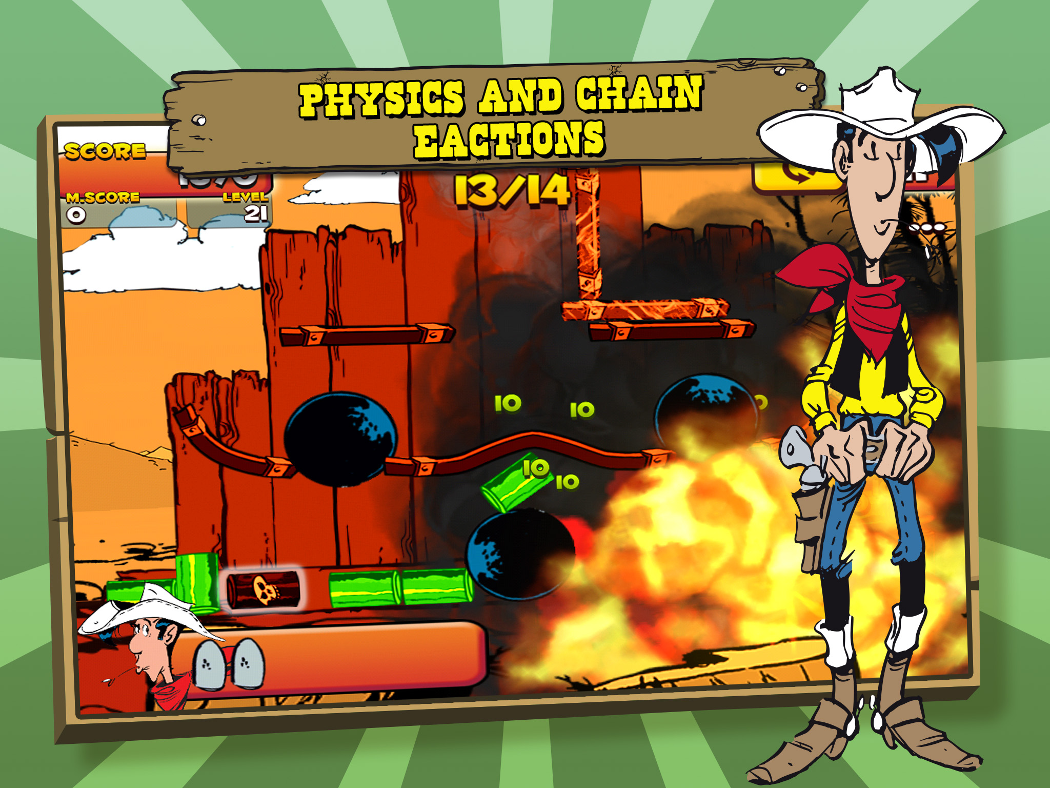 Lucky Luke Game