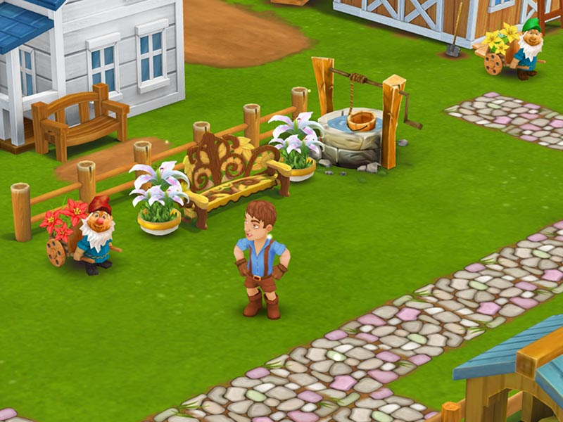Farm Spiel