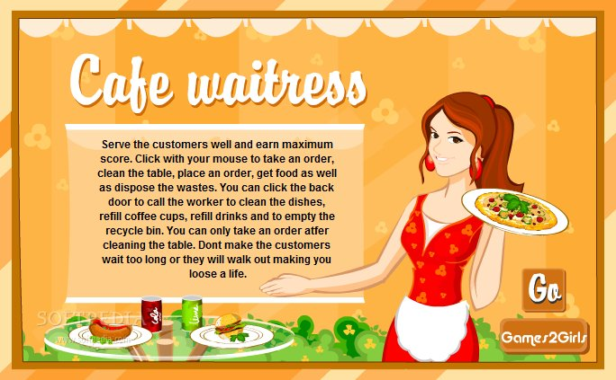 waitress how to talk to customers