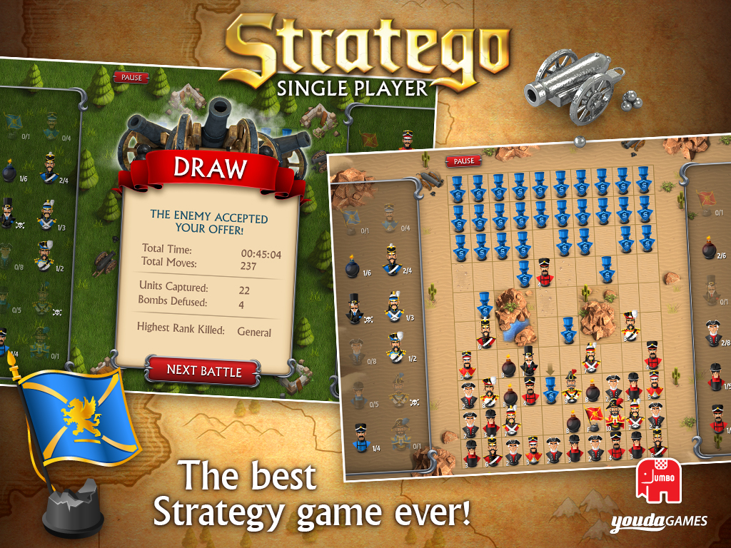 stratego single player download and play on mobile youdagames com