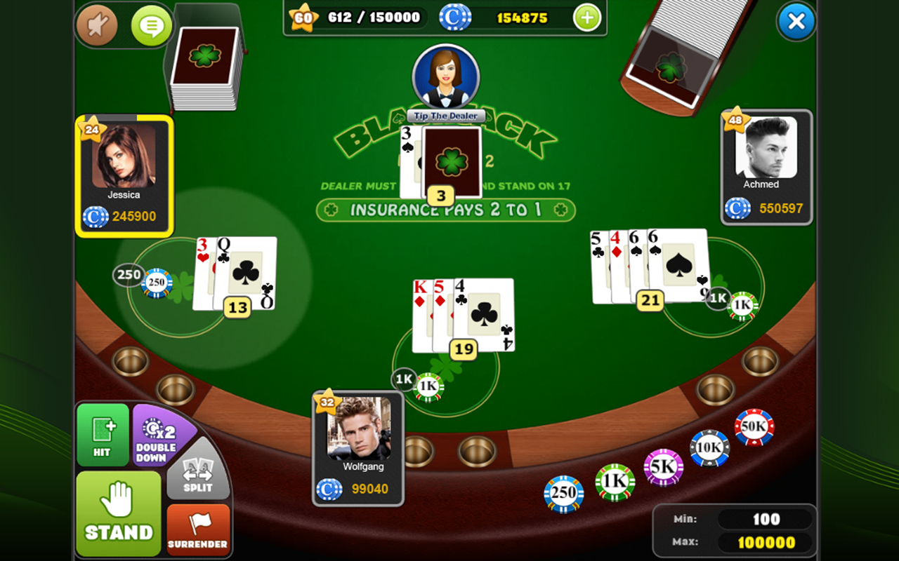 Games Com Blackjack