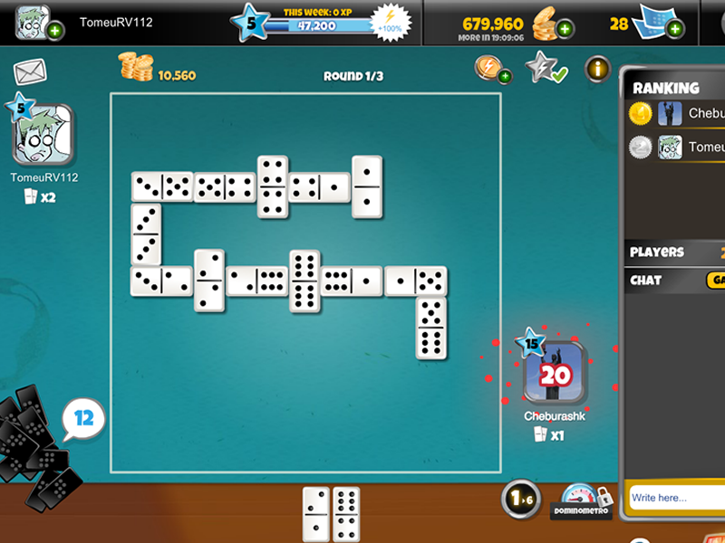 Play Dominos Online