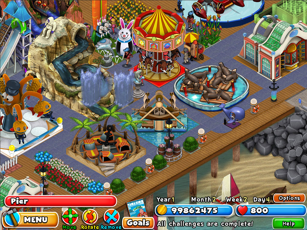 Build Your Own Amusement Park Game Free Download