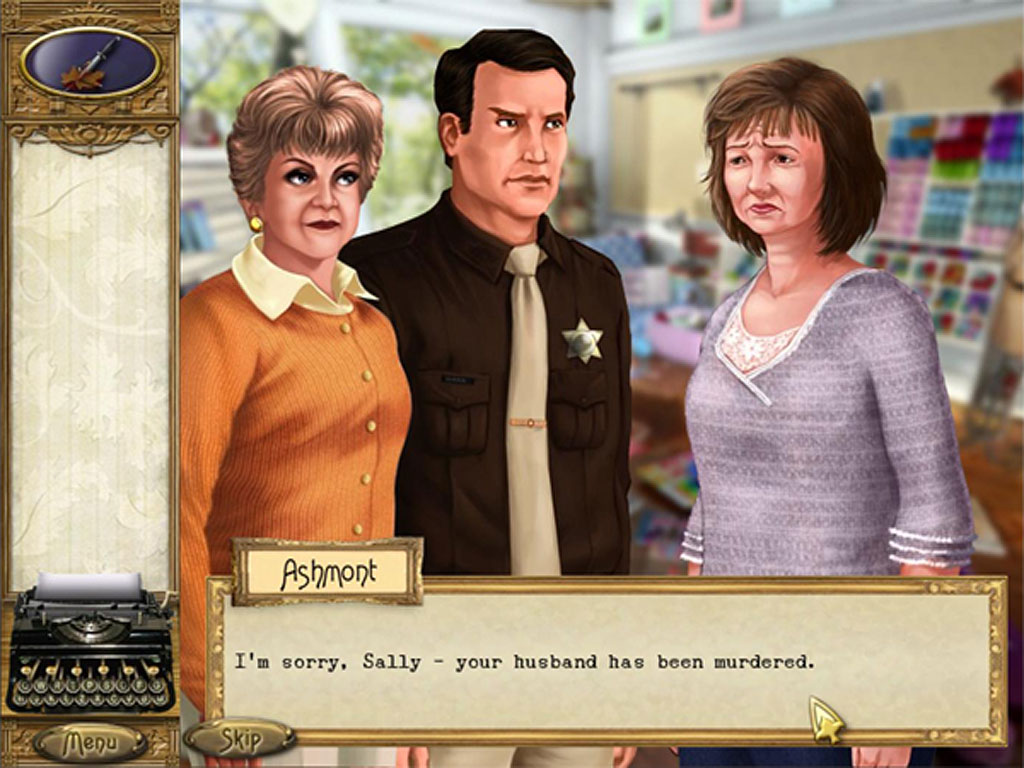 Murder she wrote pc download game play for free at iplay. Com.