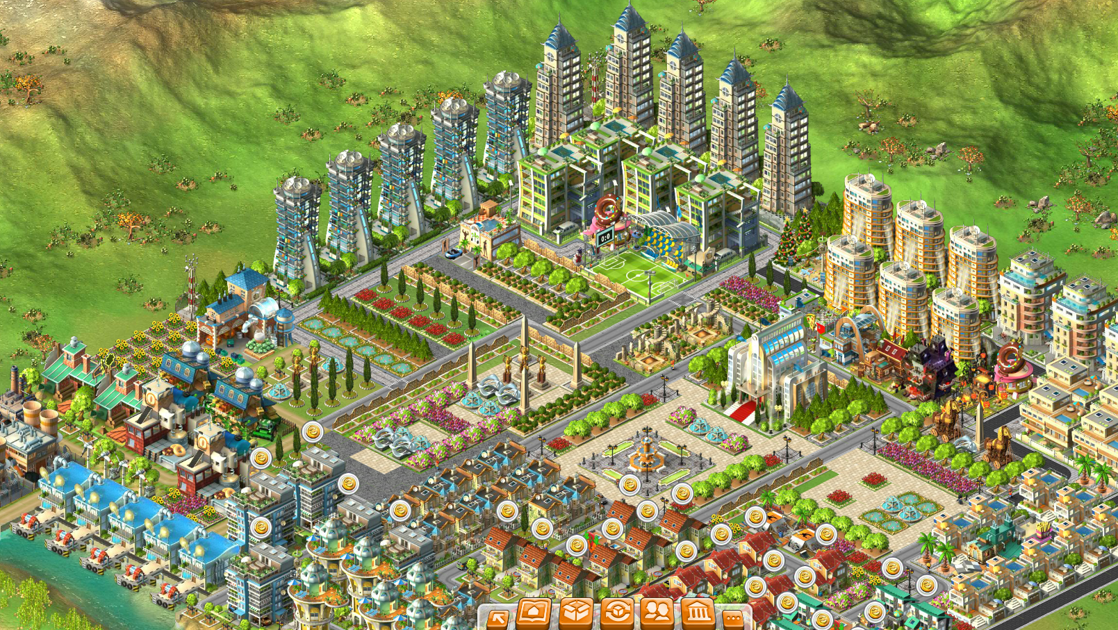 Rising Cities Play Online For Free Youdagames Com