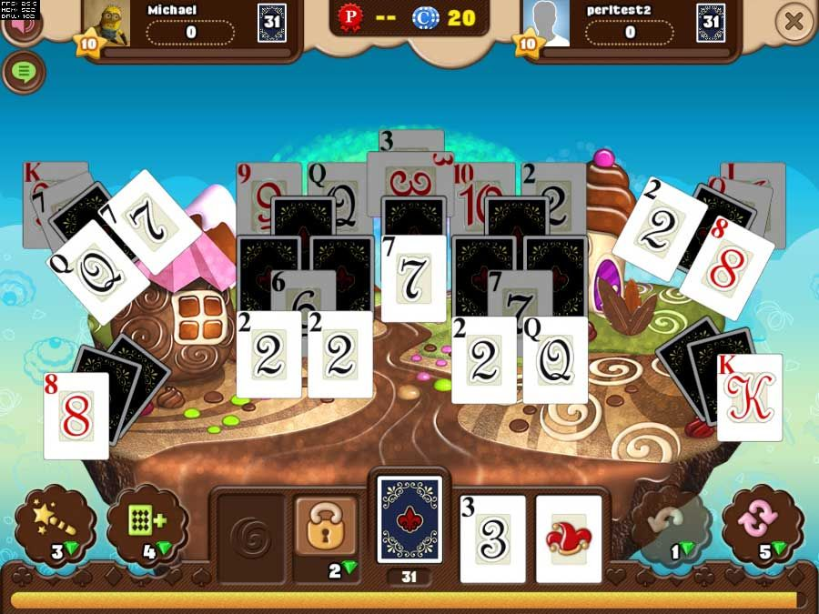 Spider solitaire play online.
