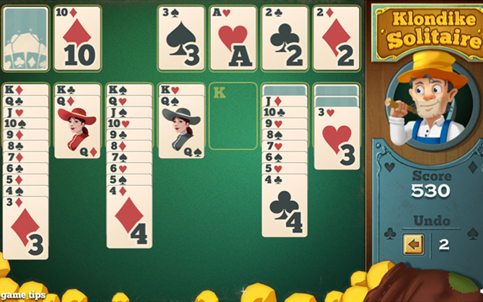 klondike solitaire play online for free youdagames com