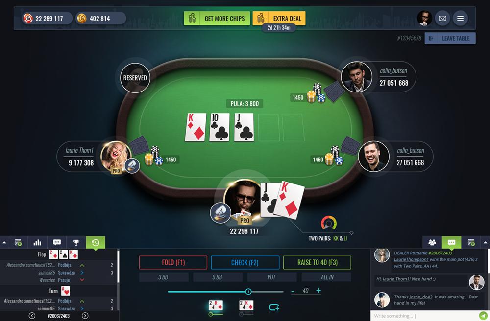 игра покер онлайн pro