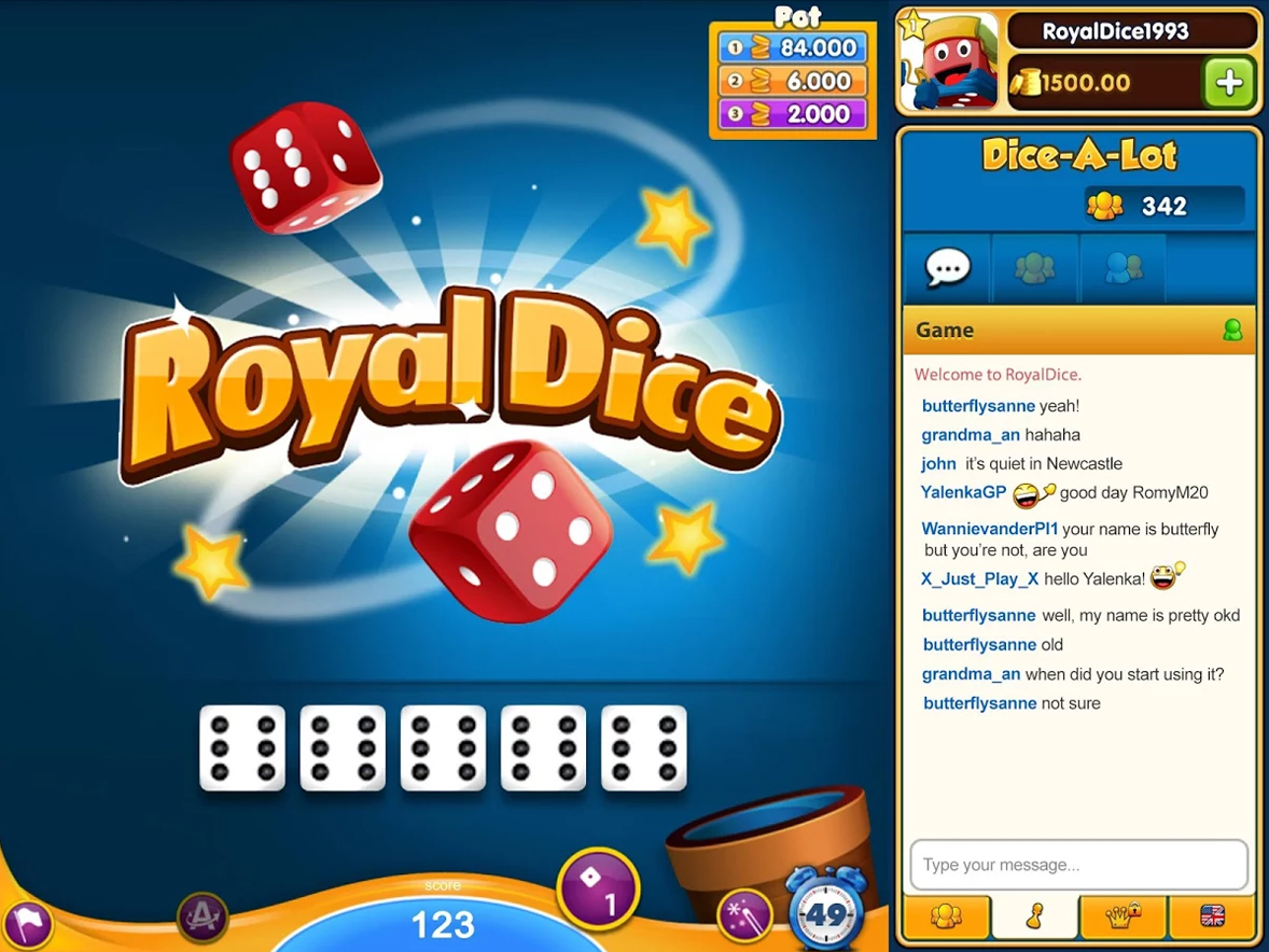 Royal dice download lowest stake roulette