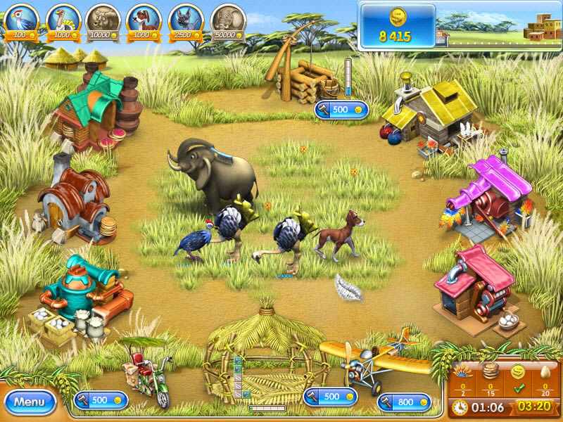 Farm Frenzy 3: Madagascar - Download and play on PC | Youdagames com