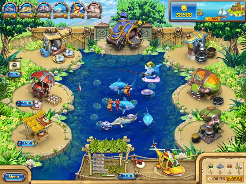 Farm Frenzy: Gone Fishing - Download and play on PC