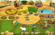 Download en speel Farm Mania Hot Vacation