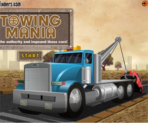 Towing Mania - Play online for free | Youdagames.com