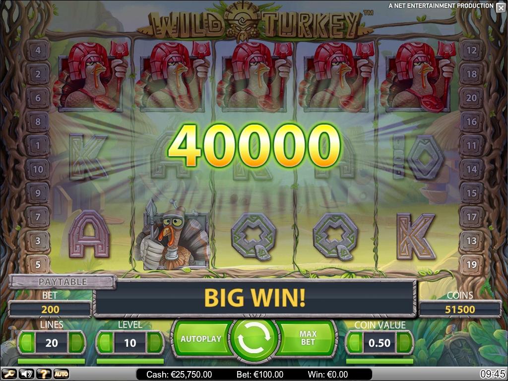 Spiele Wild Turkey - Video Slots Online