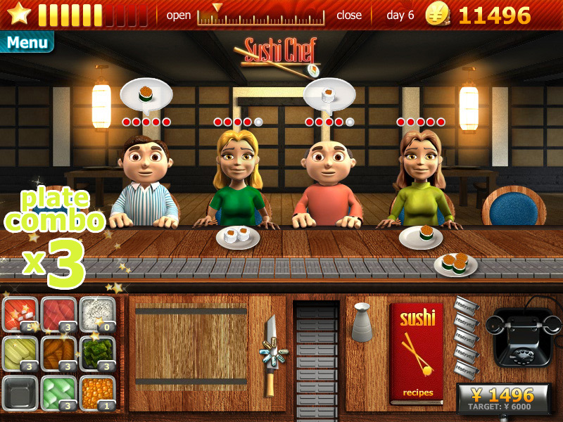 Download youda sushi chef for free at freeride games!